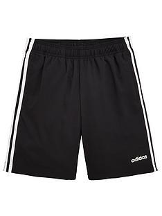 85fe528d78a adidas Boys 3 Stripe Woven Short