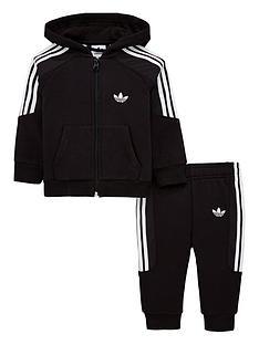 6dc5ddc3db8e adidas Originals Baby Boys Radkin Tracksuit - Black