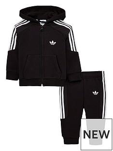 adidas Originals Baby Boys Radkin Tracksuit - Black 99f5eba1f6