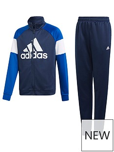 adidas Boys Tracksuit - Navy 090c3ae48