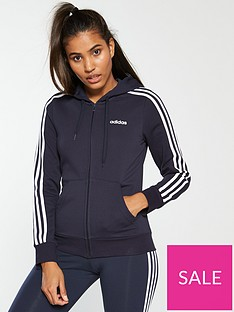 adidas-essentials-3-stripe-full-zip-hoodienbsp--navynbsp