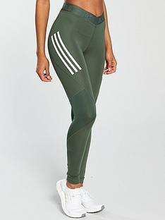 adidas-alphaskin-sport-3-stripe-tight-khakinbsp
