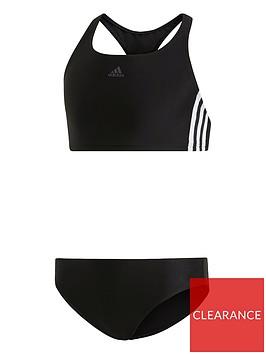 adidas-girls-fit-2-piece-3-stripe-bikini-black