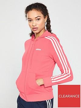 adidas-essential-3-stripes-full-zipnbsphoodienbsp--pinknbsp