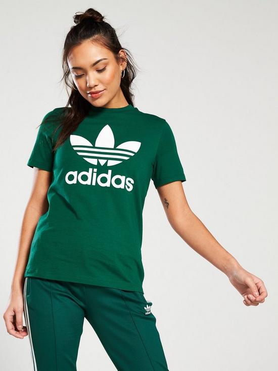 e7580e705 adidas Originals Trefoil Tee - Green