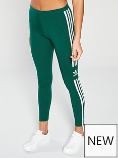 8c7cc50b9cfa0 adidas Originals Trefoil Tight - Green | very.co.uk