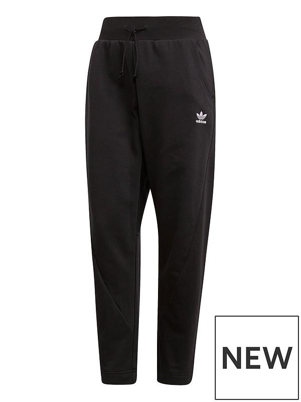 8397c78d4 adidas Originals 3 Stripes Pant - Black | very.co.uk