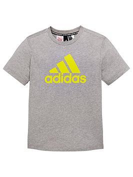 adidas-boysnbspbos-t-shirt-grey