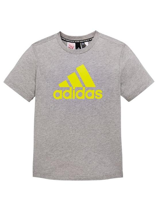 7cce5561dee79 adidas Boys Mh Bos Tee   very.co.uk