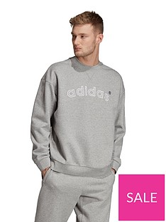 adidas-originals-90s-appliqued-logo-crew-neck-sweat-grey-marl