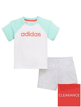 adidas-baby-girls-linear-short-amp-t-shirt-set-white