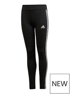 adidas-girls-3-stripe-leggings