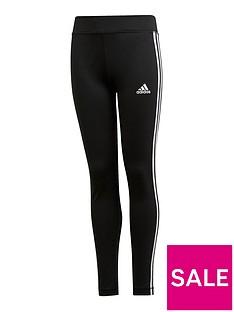 adidas-girls-3-stripe-leggings