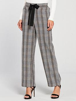 river-island-wide-leg-check-trousers