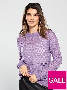 v-by-very-honeycomb-stitch-jumper-dusky-lilac