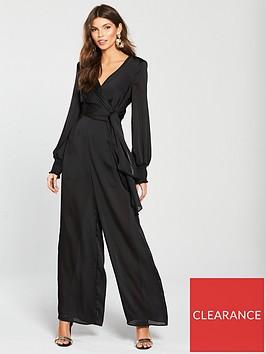 river-island-tie-waist-jumpsuit-black
