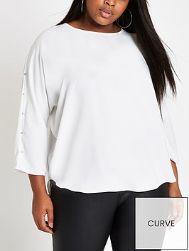 ri-plus-embellished-batwing-top-ivory