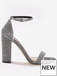 miss-selfridge-lurex-glitter-block-heel
