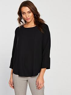 river-island-batwing-top-black