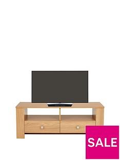 Madrid Oak-Effect TV Unit - fits up to 40 Inch TV