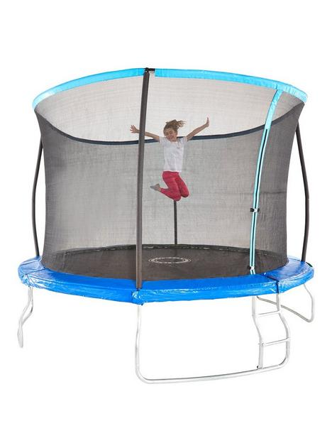 sportspower-12ft-trampoline-with-easi-store-folding-enclosure-amp-flip-pad
