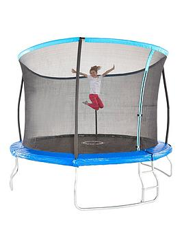 Sportspower 12Ft Trampoline With Easi-Store Folding Enclosure  Flip Pad