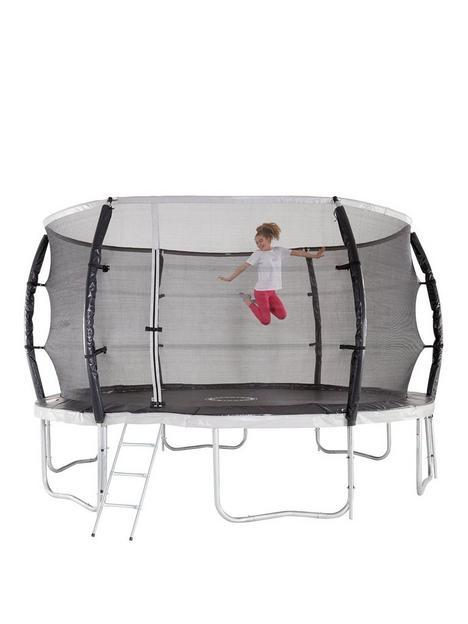 sportspower-10ft-titan-super-tube-trampoline-enclosure-ladder