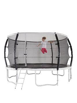 Sportspower 12Ft Titan Super Tube Trampoline, Enclosure, Ladder