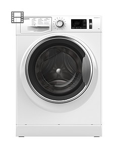 Hotpoint Active Care NM111045WCA 10kg Load, 1400 Spin Washing Machine - White