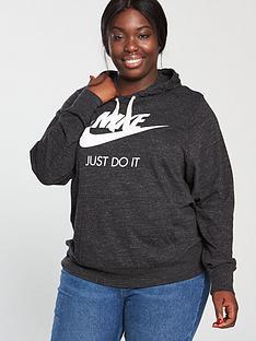 a028105b456 Nike Sportswear Gym Vintage Hoodie (Curve) - Black