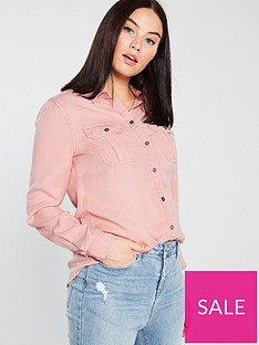 superdry-xenia-acid-wash-shirt-pink
