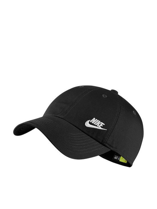 813ea87c Nike Sportswear H86 Futura Classic Cap - Black | very.co.uk