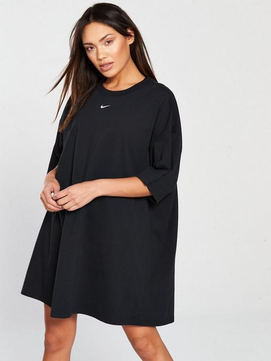 898ad8cf7617 Nike Sportswear Essential Dress - Black | very.co.uk