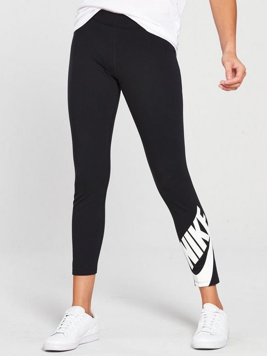 195d5c69f4a53 Nike Sportswear Futura Leg-A-See Legging - Black | very.co.uk