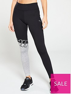 puma-78-tight-blackgreynbsp