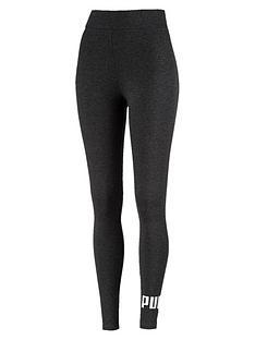 puma-essentials-logo-leggings-dark-grey-heathernbsp