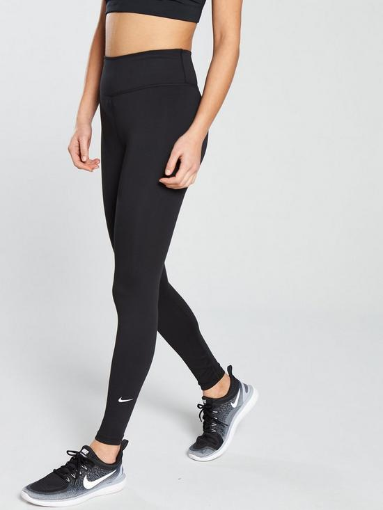 separation shoes ae19d 45e46 Nike The One Legging - Black   very.co.uk