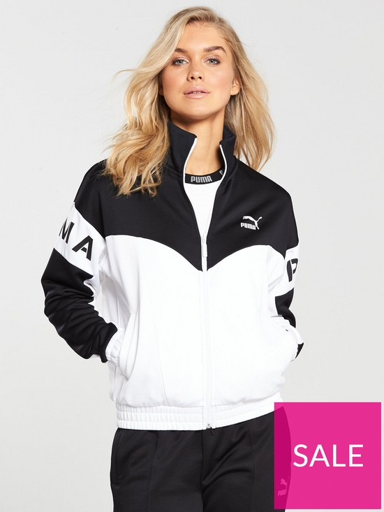 cea67f2c1 Puma XTG 94 Track Jacket - Black/White | very.co.uk