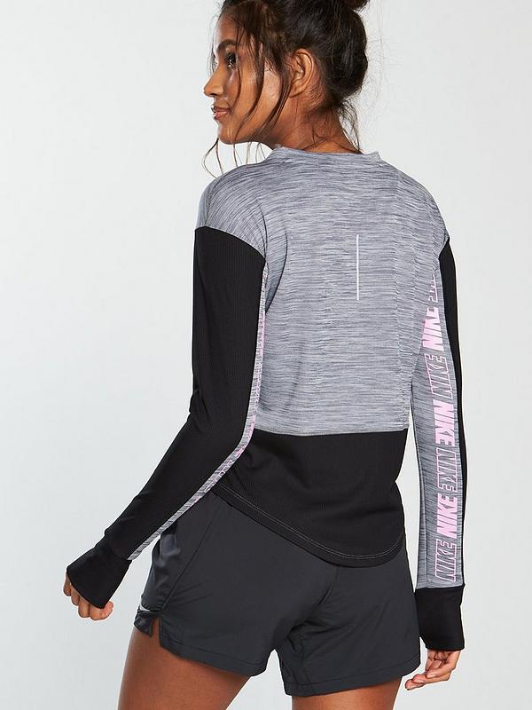 Nike Running Pacer Top - Grey  d29e275c5c3