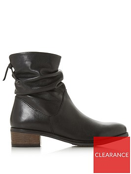 dune-london-pagerss-ruched-ankle-boot