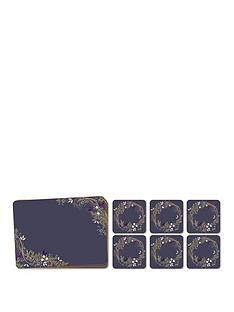 portmeirion-garland-placemat-and-coaster-10-piece-set