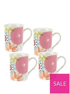 portmeirion-crazy-daisy-set-of-4-mugs