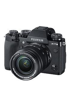 fujifilm-x-t3-mirrorless-camera-with-18-55mm-lensnbsp26-megapixel-3-inchnbsplcdnbspdisplay-4k-black