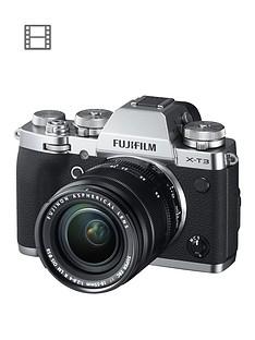 fujifilm-x-t3-mirrorless-camera-with-18-55mm-lensnbsp26-megapixel-3-inchnbsplcdnbspdisplay-4k-silver