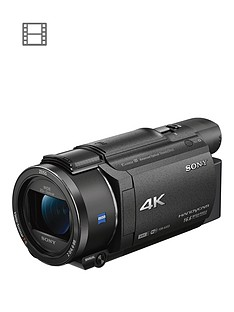 Sony FDR-AX53 4K Handycam with Exmor R CMOSSensor - Black