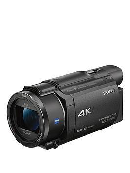 Sony Fdr-Ax53 4K Handycam With Exmor R Cmos Sensor - Black