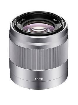 Sony Sony Sel50F18 E 50Mm F1.8 Oss Lens -Silver