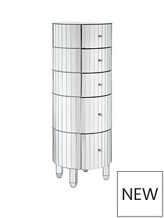 phoebe-ready-assembled-round-5-drawer-mirrored-chest