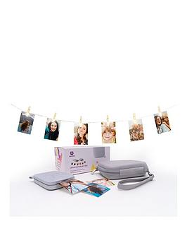 Hp Sprocket New Edition Gift Bundle Printer  - Sprocket New Edition Gift Bundle Printer & Zink Sticky-Backed Photo Paper - 20 Sheets