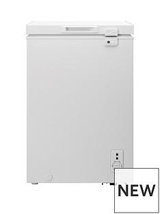 Candy CMCH100UK 100-litre Chest Freezer - White